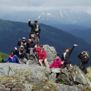 Alaska-women-hike-mt-marathon