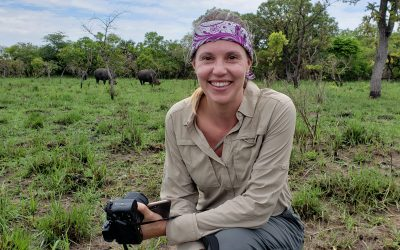 Trekking With Rhinos in Uganda