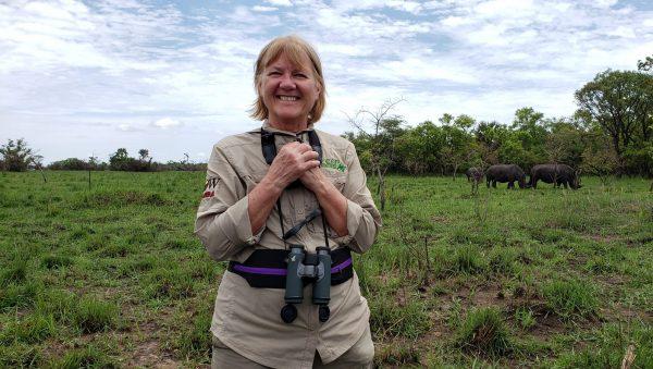 Trekking with Rhinos in Uganda