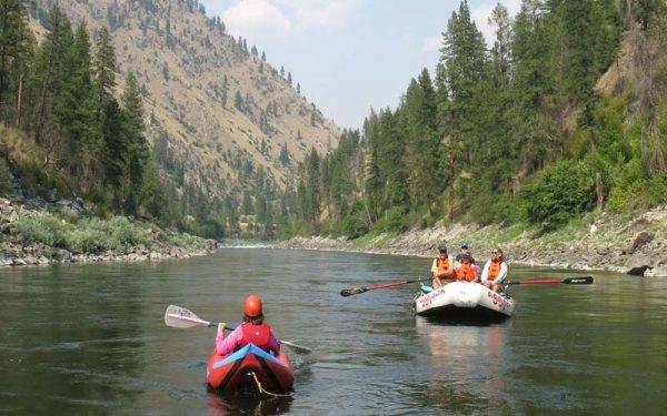 Women's Rafting Trip Idaho Main Salmon River