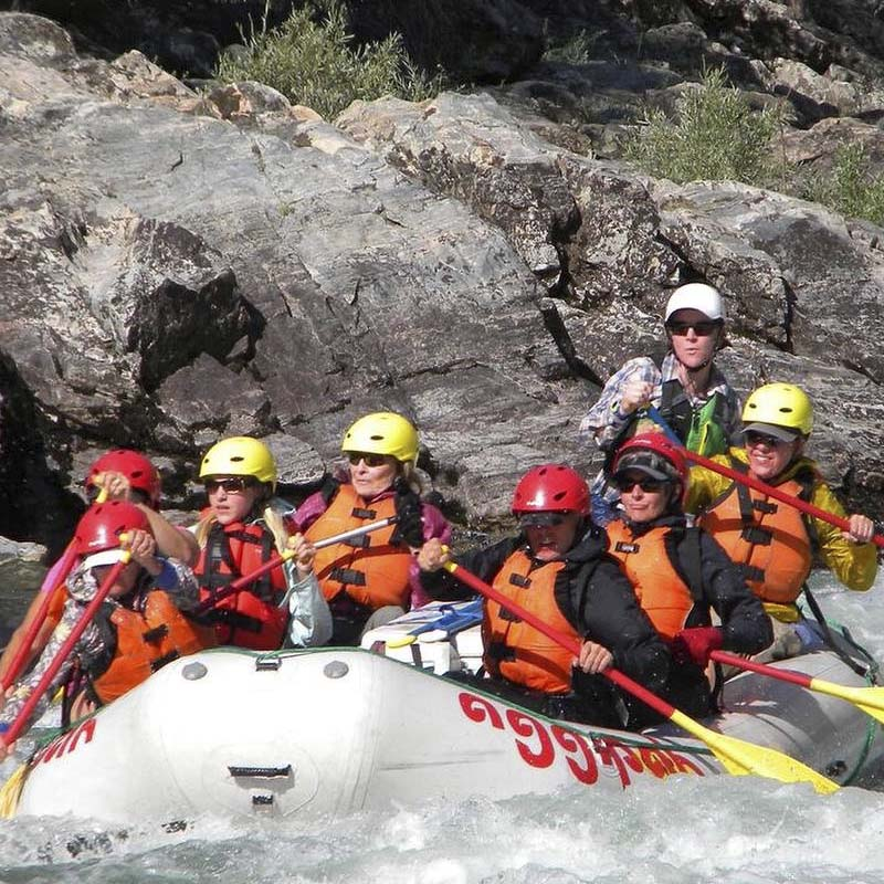 Idaho Salmon River Rafting Educational Tours