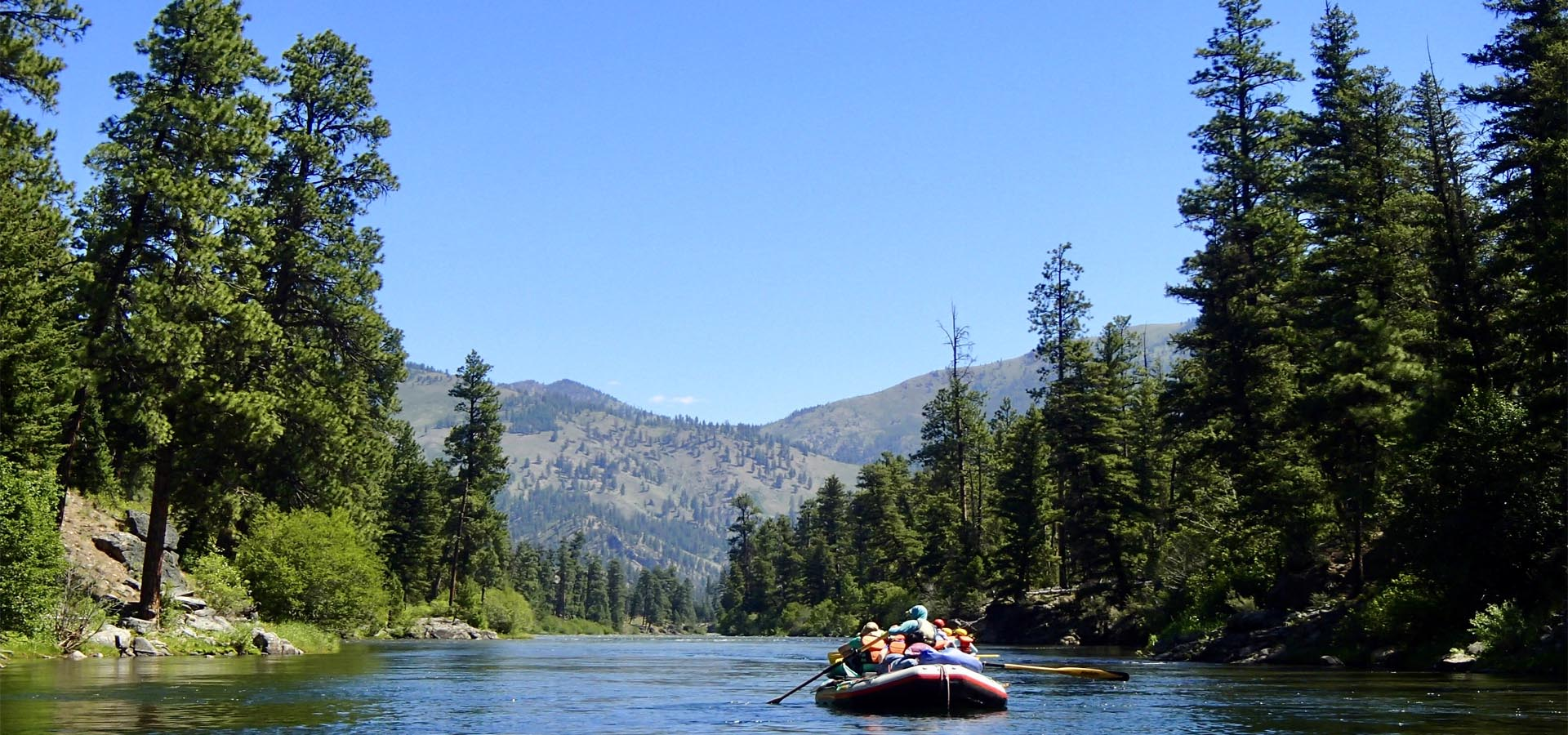 Salmon River Womens Rafting Adventure