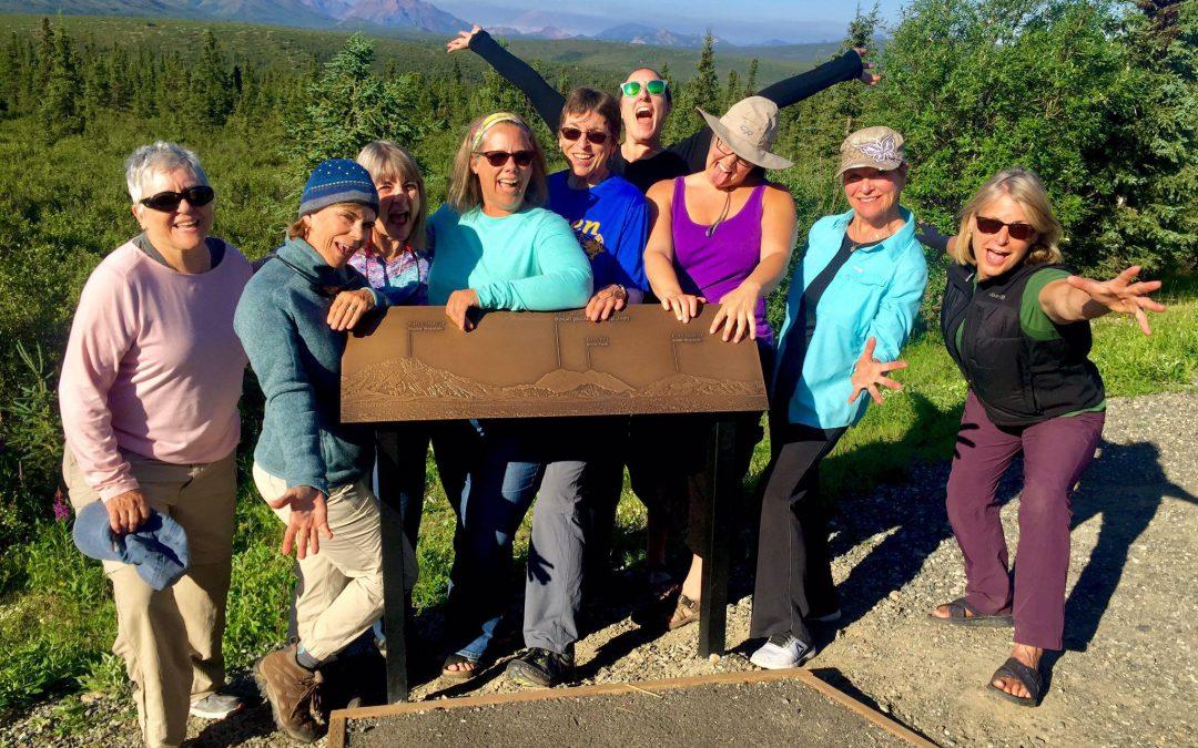 Women's Alaska's National Parks Hiking and Multi Sport Adventure July 6-16, 2022